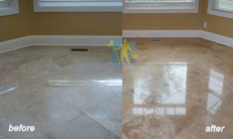 ceramic Stone Floor Restoring and Cleaning