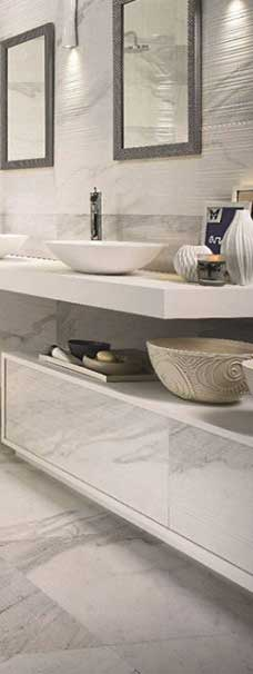modern ceramic tiles in bathroom Perth