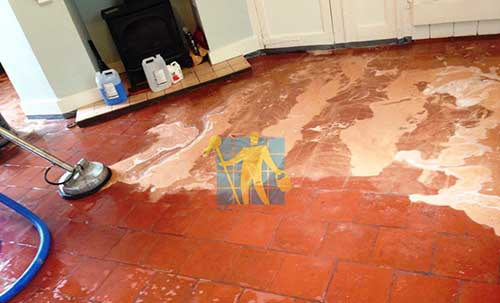 quarry tiles floor cleaning Perth